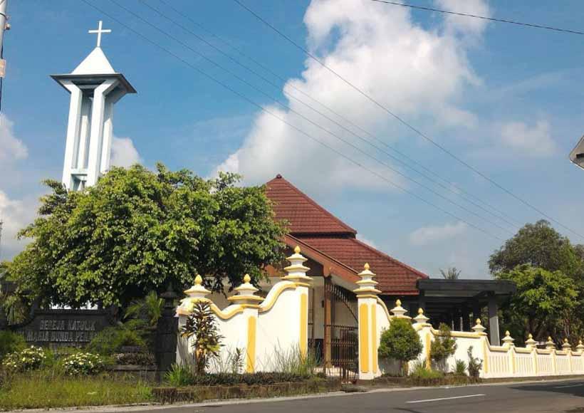 Paroki St Perawan Maria Bunda Penasehat Baik Wates Vikaris Episkopalis